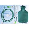 Wlewnik gumowy (Esmarcha), 3 litry, irygator, termofor, lewatywa